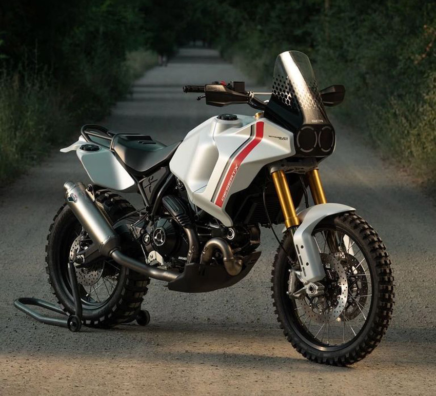 Adventure Bike concept Ducati Desert X