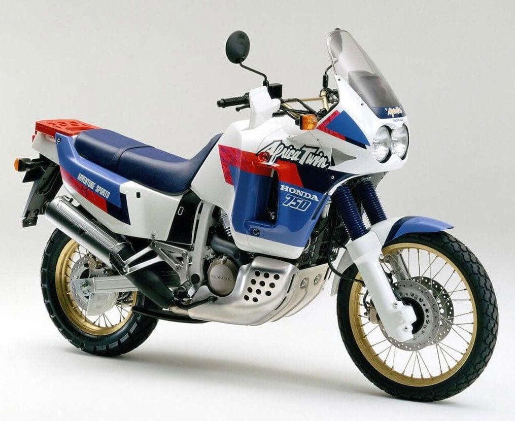 1990 Honda XRV750 Africa Twin history