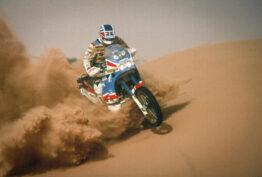 1986-1989 Honda NXR750 Paris Dakar Africa Twin history