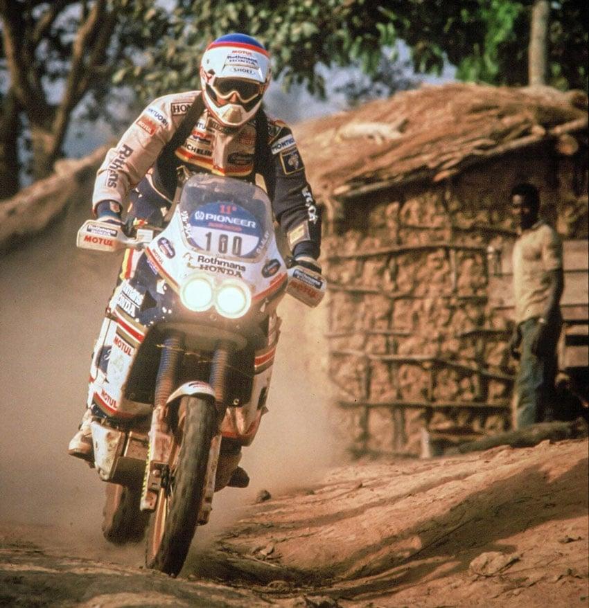 1988 Honda NXR750 Paris Dakar Rally