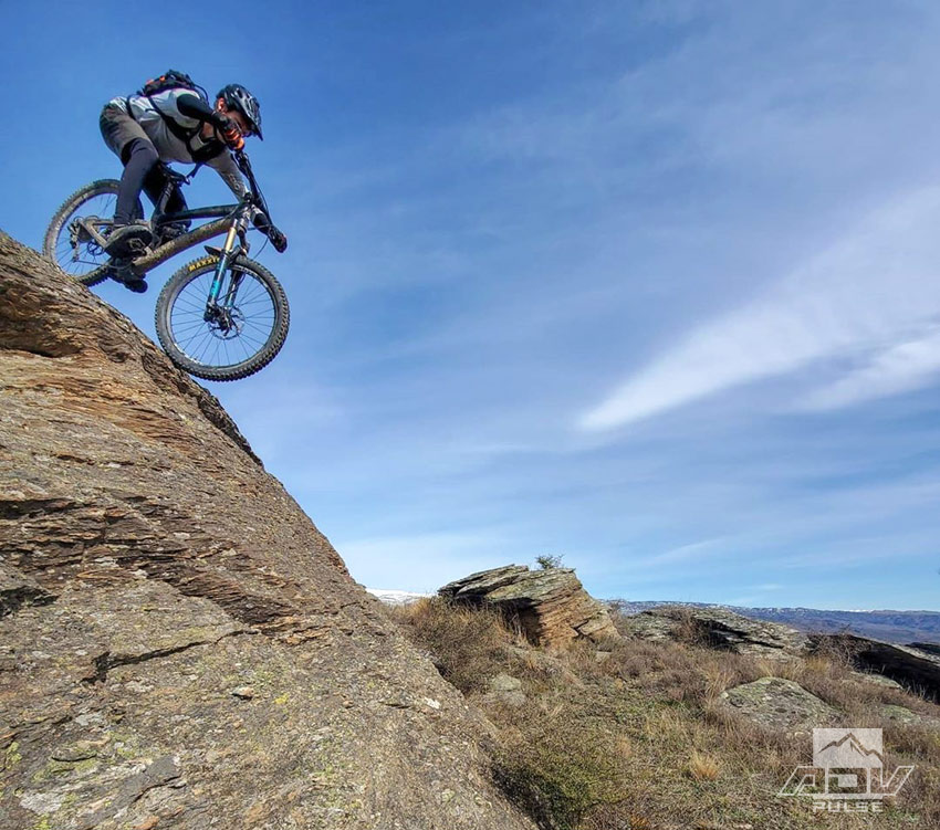 Chris Birch combines Mountain bikes and adventure motorcycles