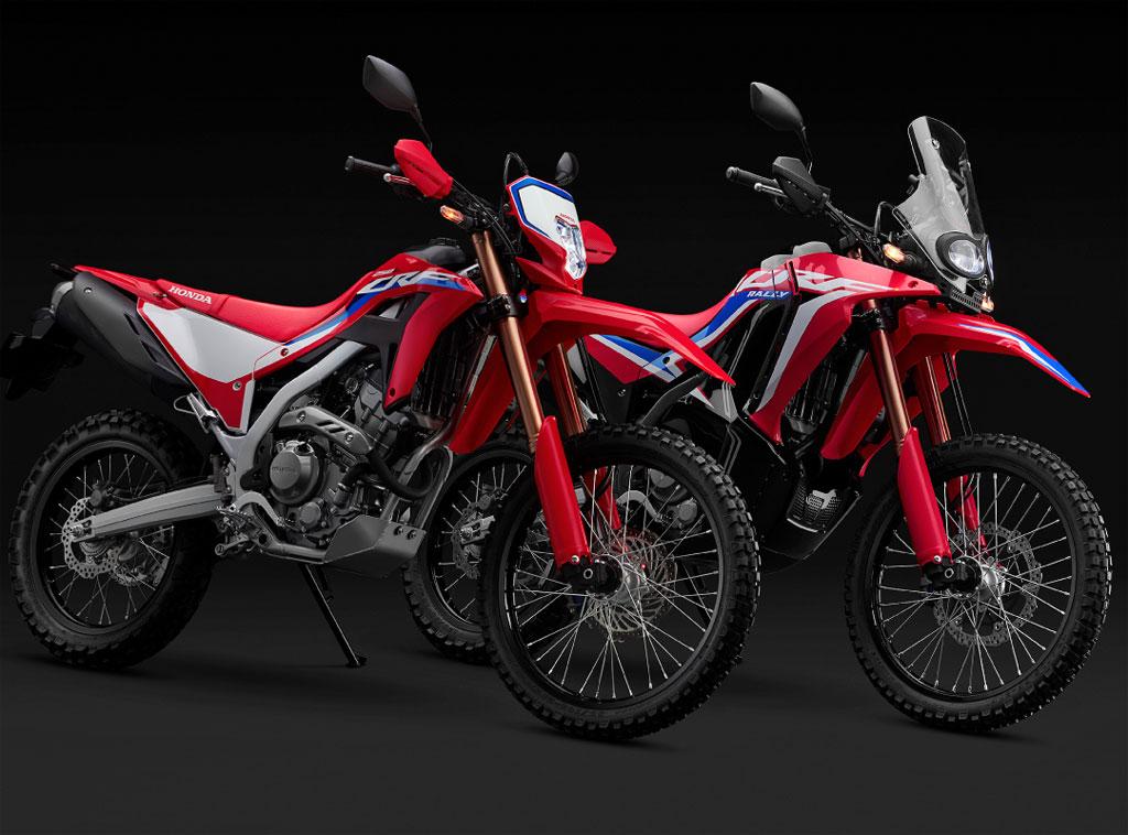 2021 Honda CRF250L  and CRF250 Rally
