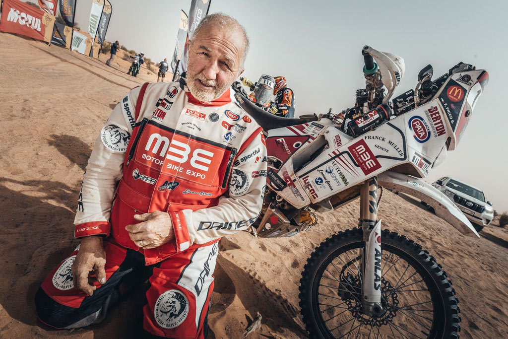 Dakar veteran Franco Picco will compete in the Dakar 2021 at age 65