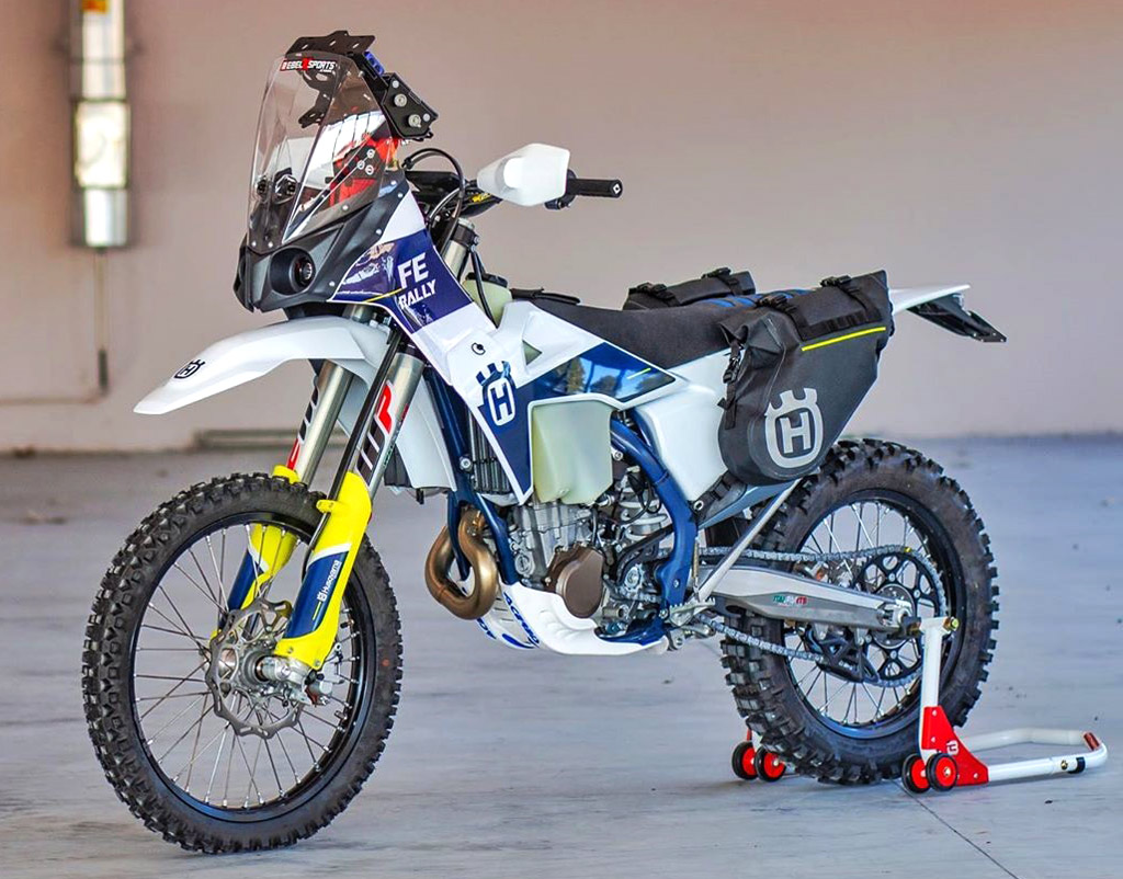 Rebel X Sports Husqvarna FE Rally Kit