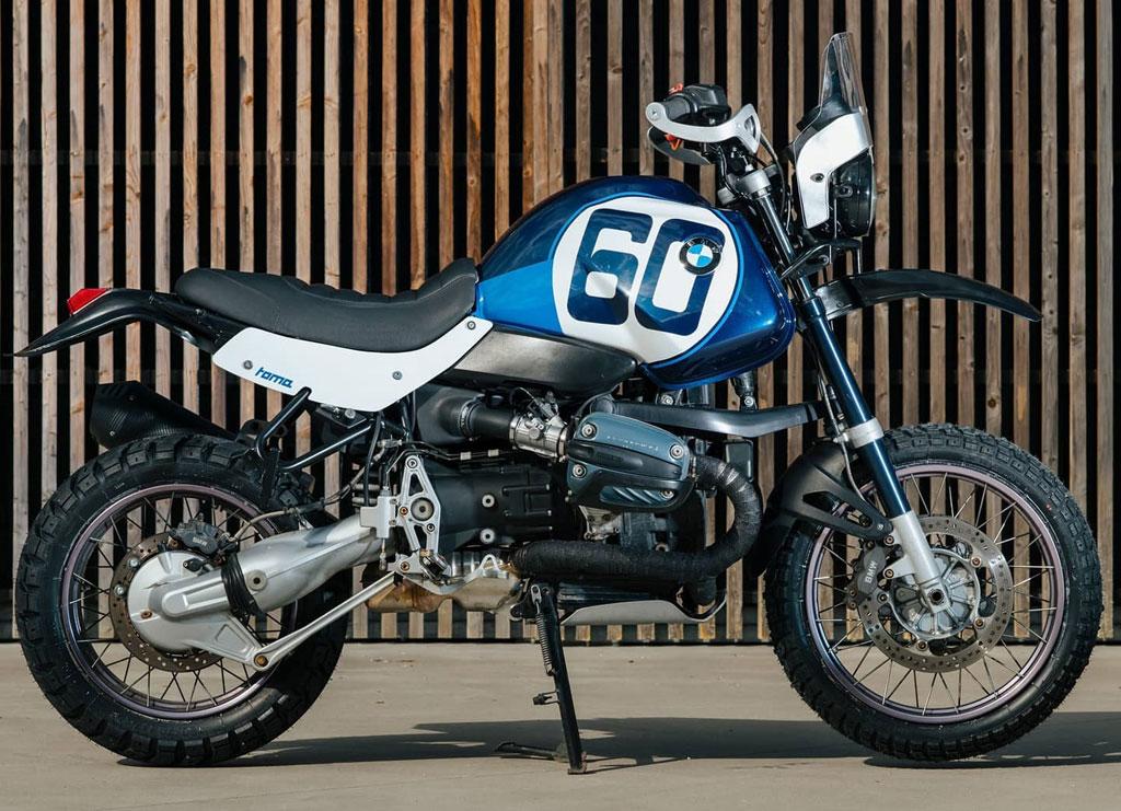 Toma customs BMW R1150gs bike build