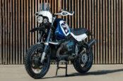 A Custom BMW R1150GS With Dakar Rally Flair