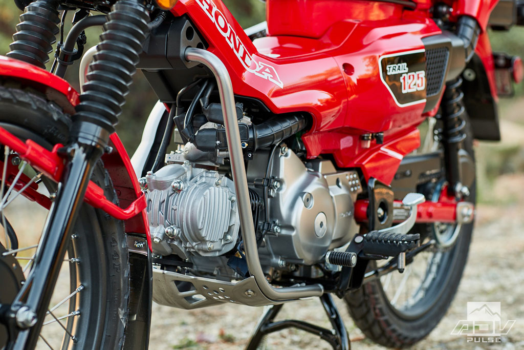 Honda 125 Trail dubbed the CT125 ABS