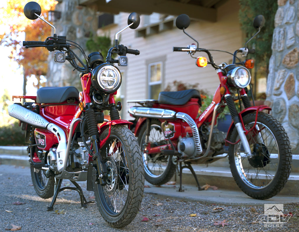 Honda Trail 125 and CT110
