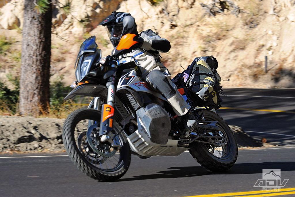 KTM 790 Adventure R street test