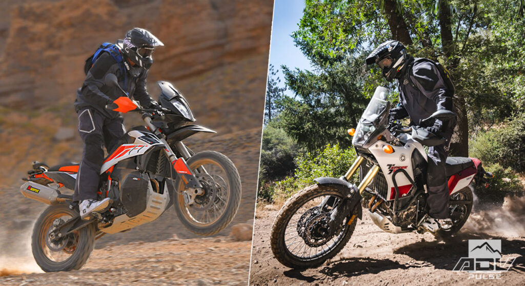 Yamaha Tenere 700 vs KTM 790 Adventure R comparo