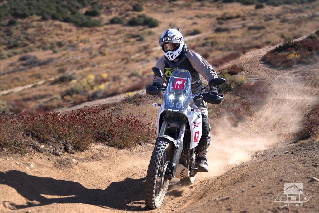 Yamaha Tenere 700 dirt test