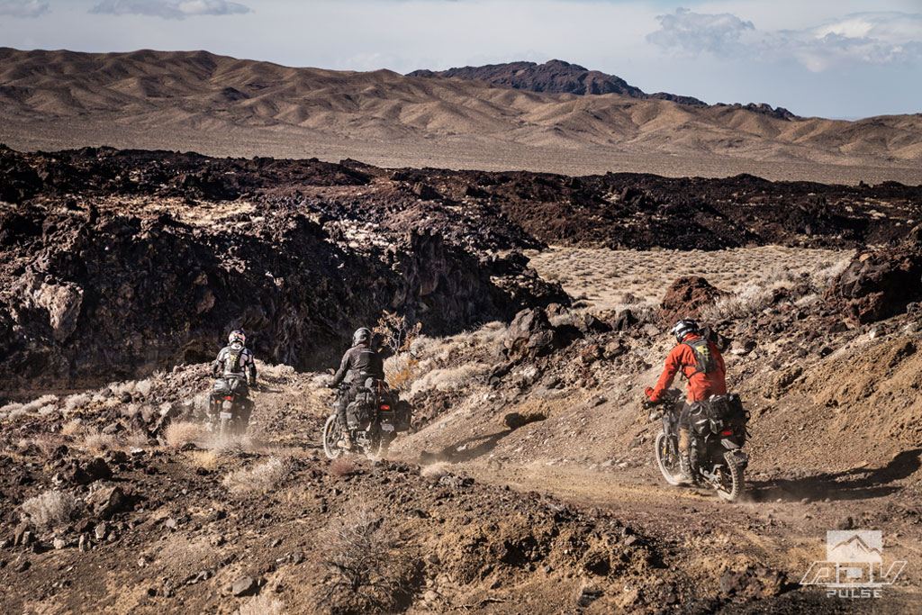 Royal Enfield Himalayan in the Mojave National Preserve