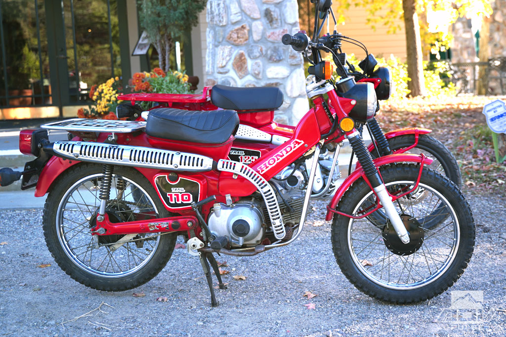 Honda CT110 trail bike