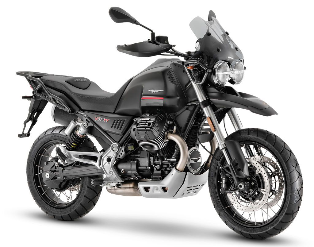 2021 Moto Guzzi V85 TT receives major updates