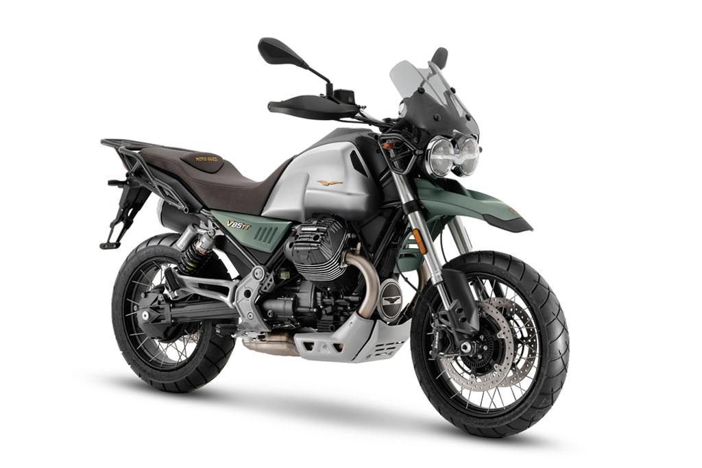 2021 Moto Guzzi V85 TT centennial model