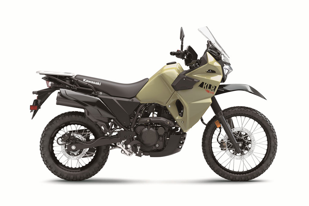 Kawasaki unveils all-new 2022 KLR650