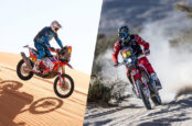 Two American Riders Grab Top 5 Finish at Dakar 2021