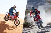 Two American Riders Grab Top 5 Finish at Dakar 2021