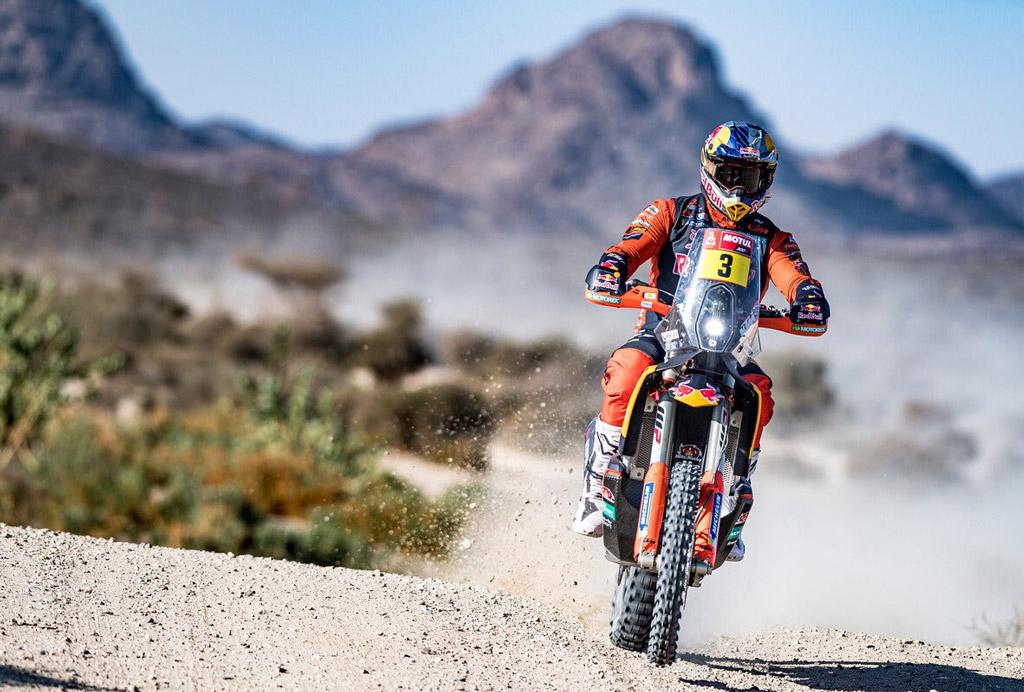 Dakar 2021 KTM Factory racer Toby Price