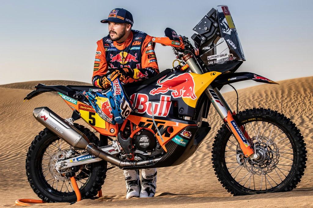 Dakar Rally 2021 Sam Sunderland