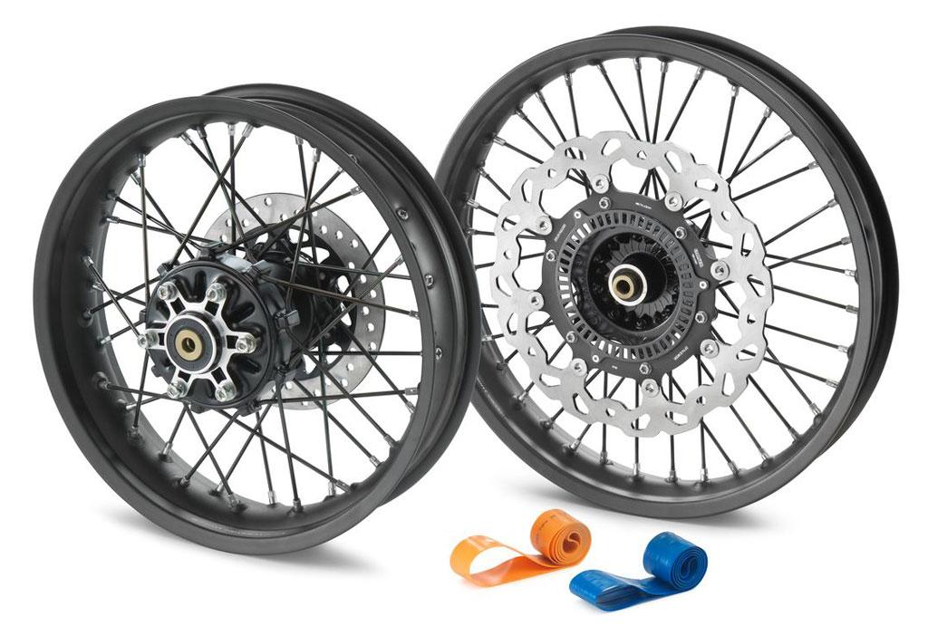 KTM 390 Adventure spoked wheels Powerparts option