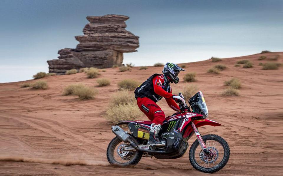 2021 Dakar Ricky Brabec takes second place