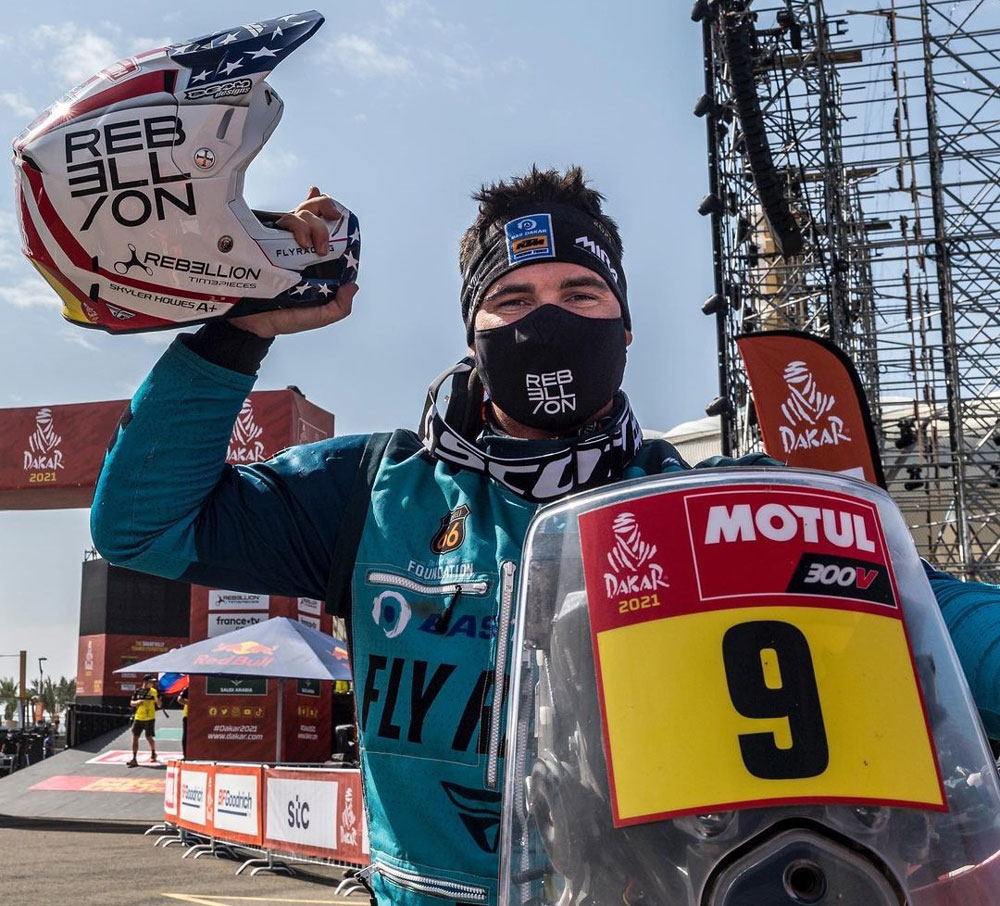 2021 Dakar Skyler Howes