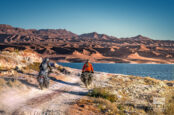 A Ride Through Nevada's Vast Red Rock Landscapes