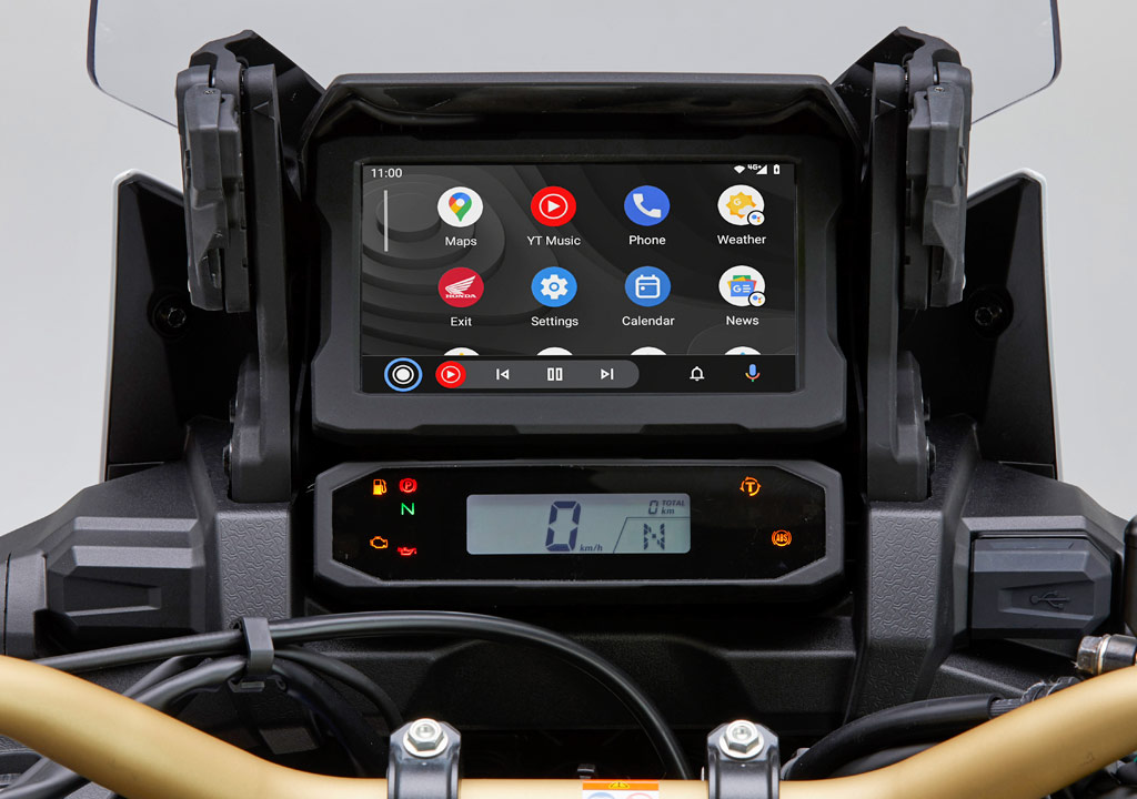 Honda CRF1100L gets Android Auto integration