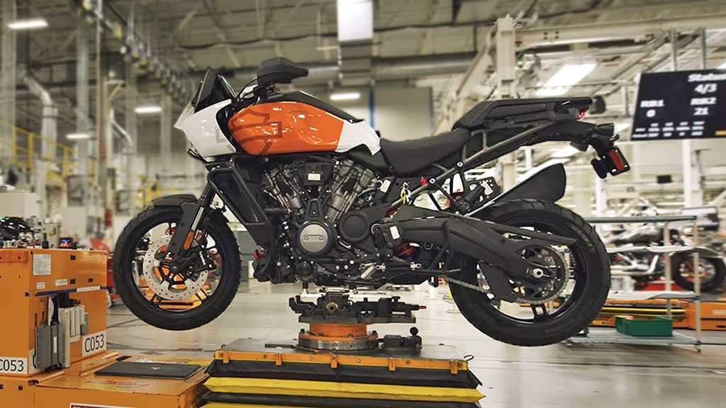 Harley Davidson begins production of Pan America Adventure Bike