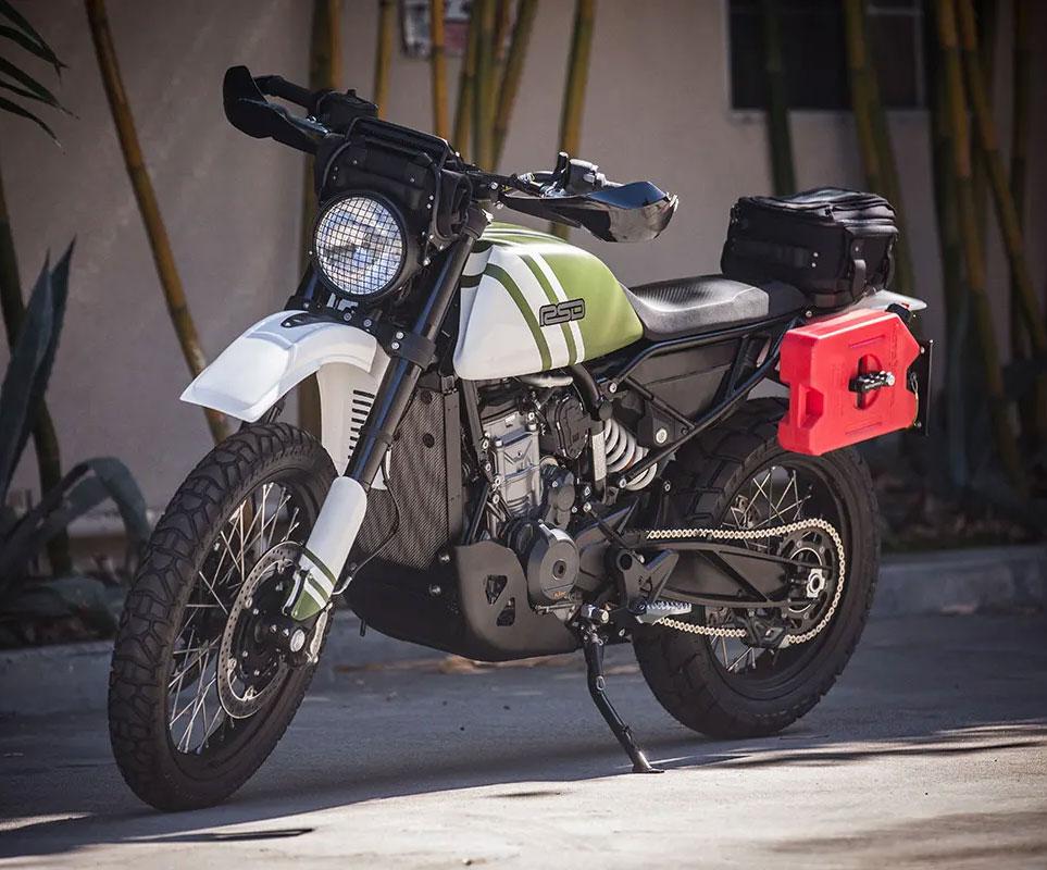Roland Sands KTM 790 Adventure build