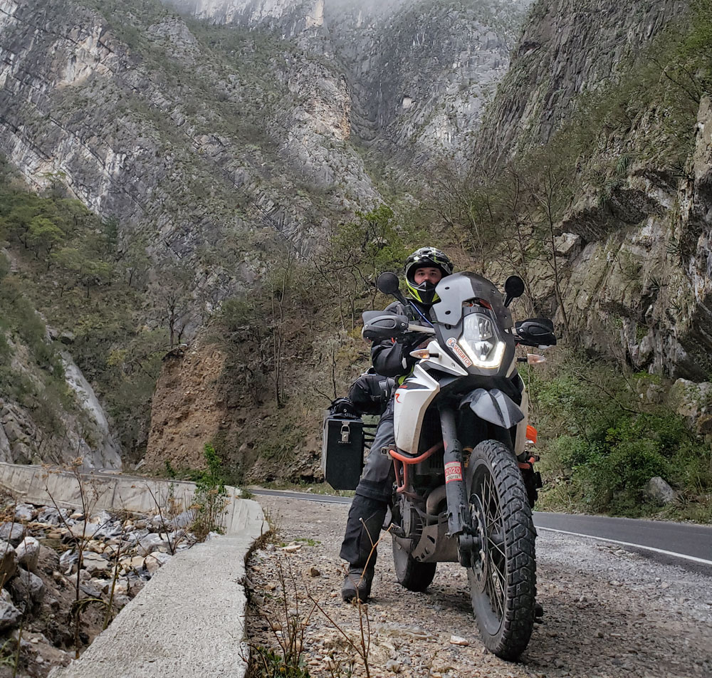 KTM 1090 Adventure R round the world journey