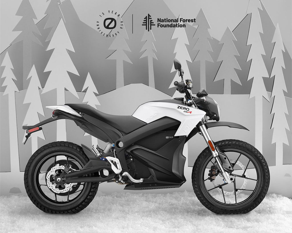 Zero Motorcycles Anniversary DSR limited-edition