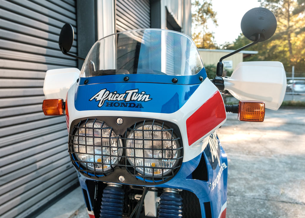 1989 Honda Africa Twin XRV650 for sale.