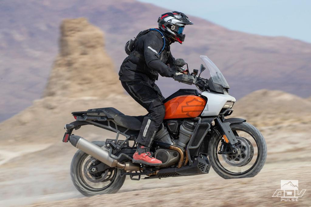2021 Harley-Davidson Pan America ergos
