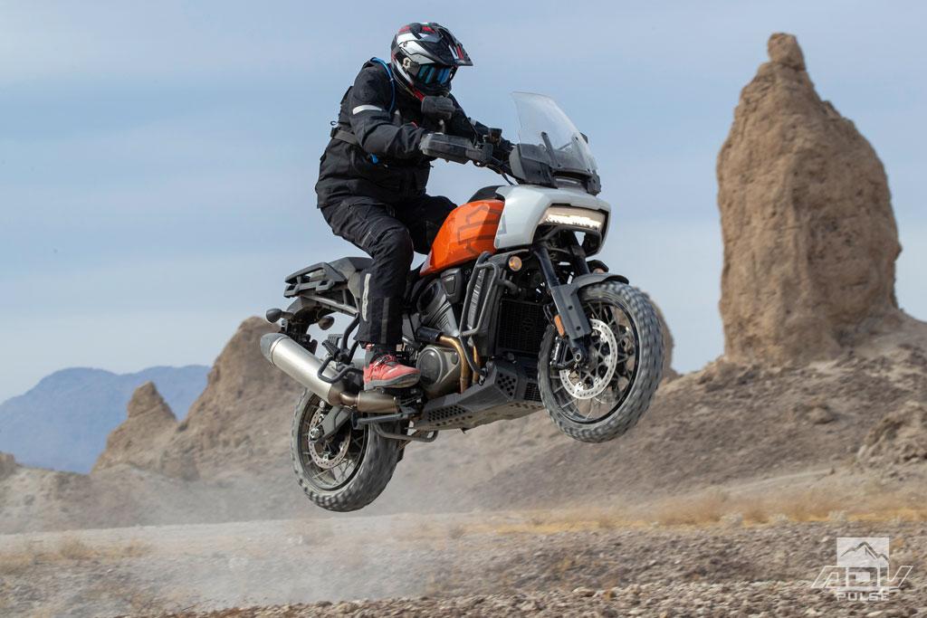 2021 Harley-Davidson Pan America jump