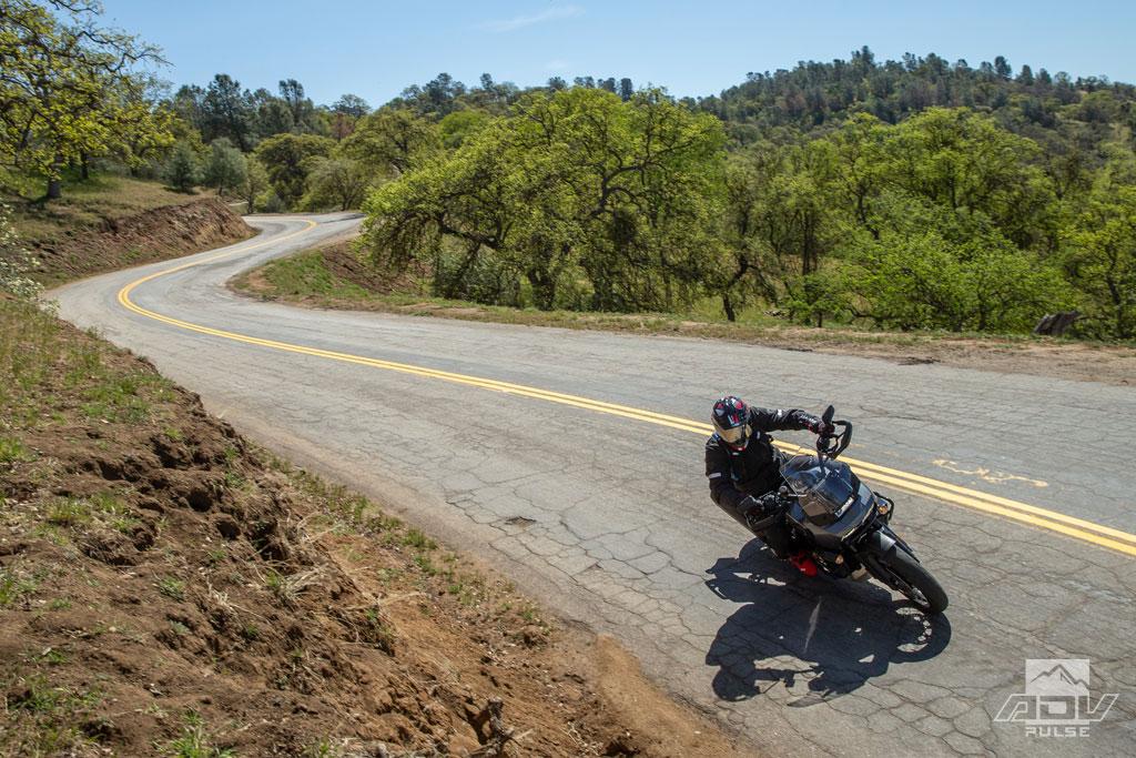 2021 Harley-Davidson Pan America in the twisties