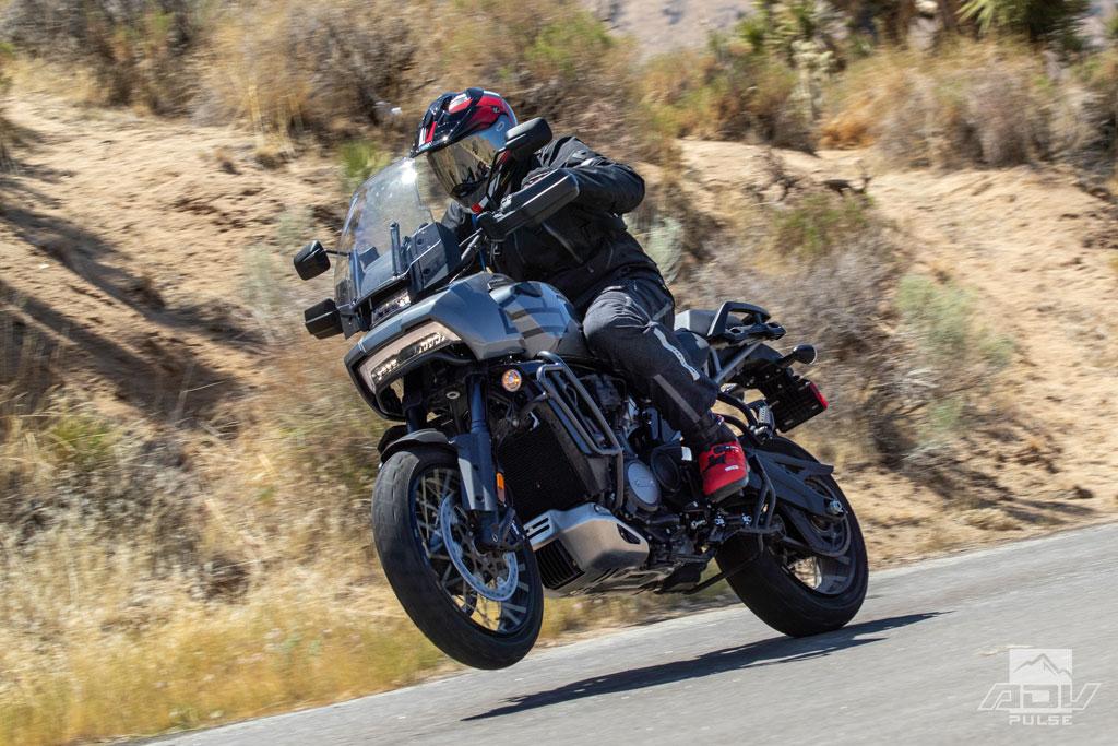 2021 Harley-Davidson Pan America handle bar street test