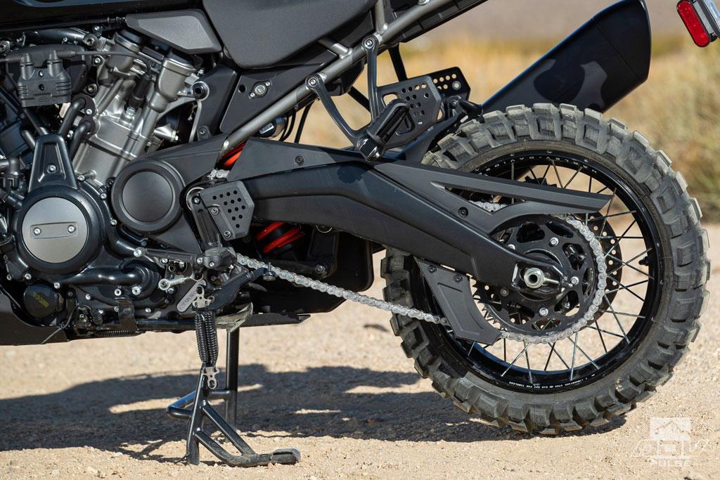 Harley-Davidson Pan America 1250 chain drive and swing arm