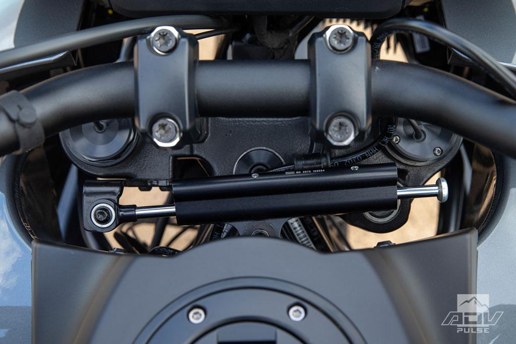 2021 Harley-Davidson Pan America steering stabilizer