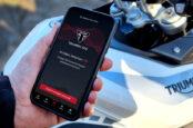 Triumph SOS Crash Detection App, Alerts Emergency Services For You