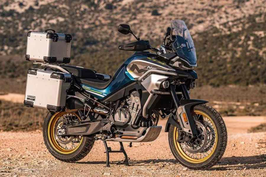 CFMoto 800MT adventure bike unveiled