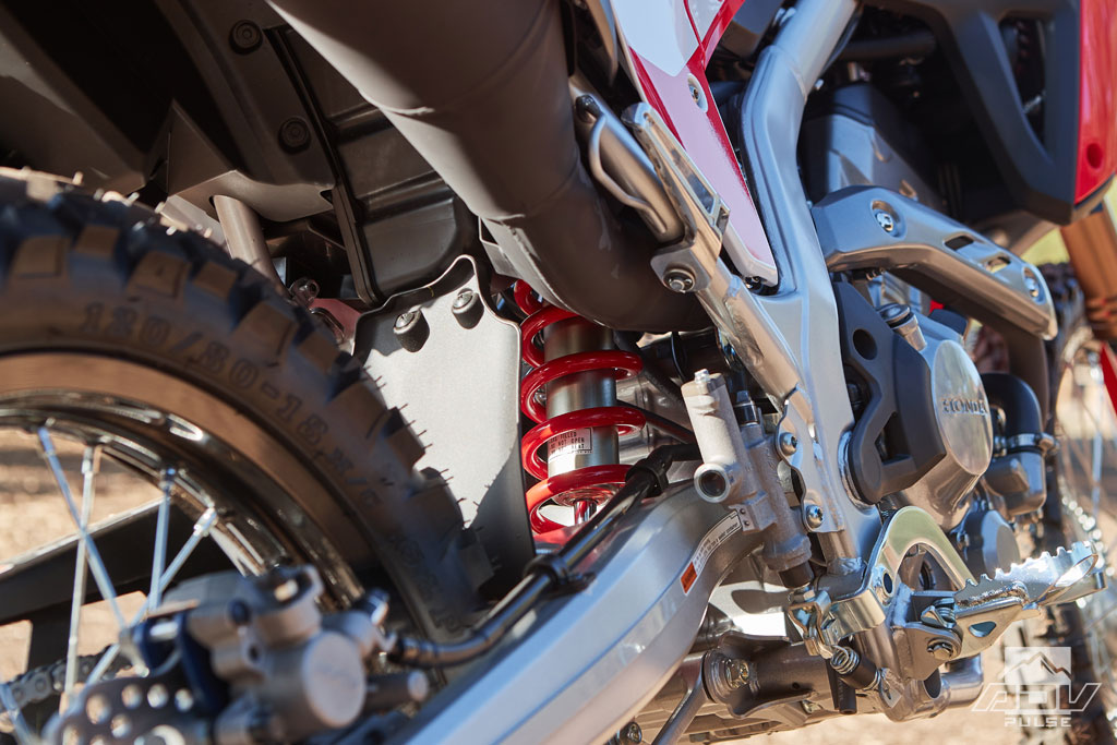 Honda CRF300L and CRF300L Rally suspension
