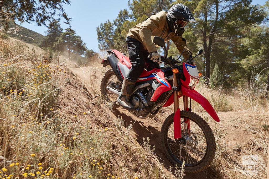 2021 Honda CRF300L dual sport test