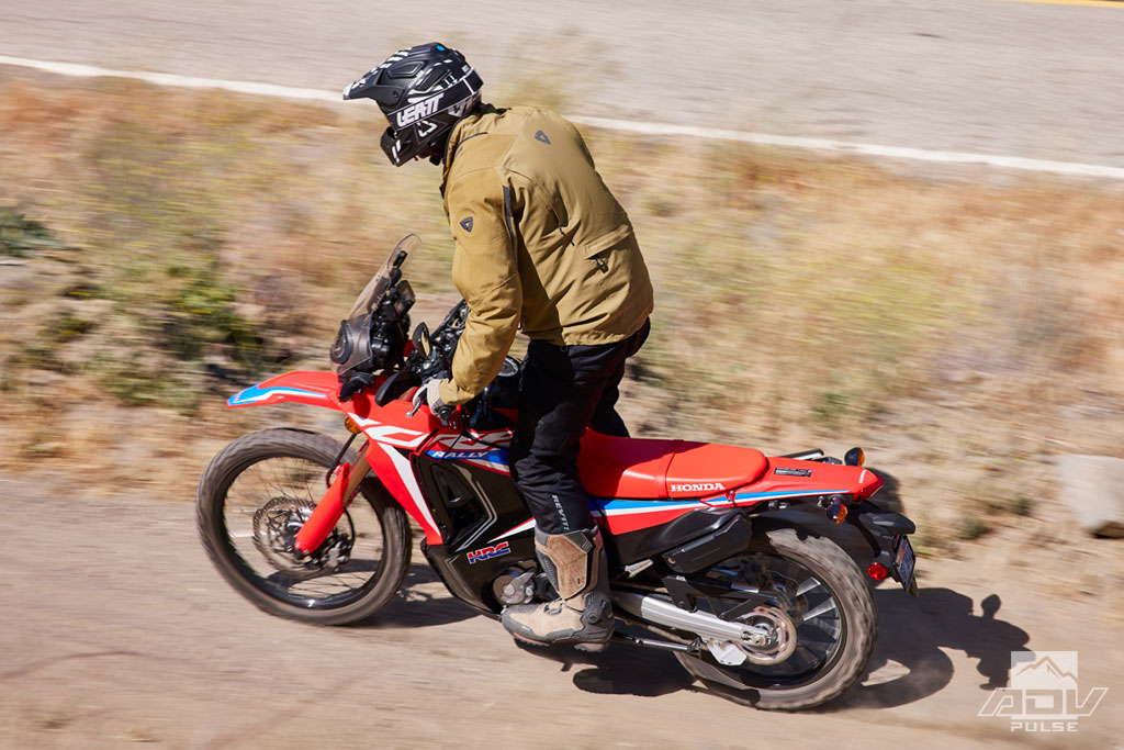 2021 Honda CRF300L Rally review