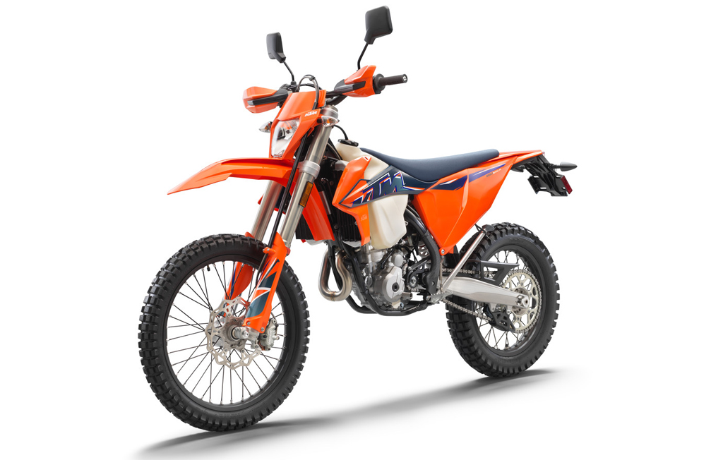 2022 KTM 350 EXC-F dual sport motorcycle updates