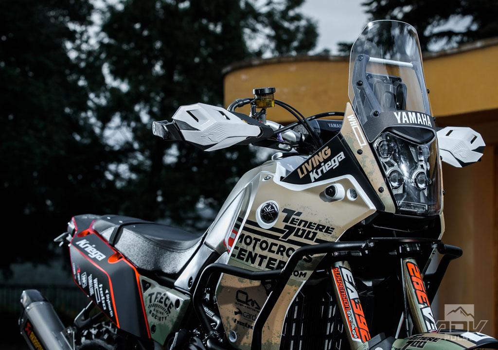 Pol Tarres Yamaha Tenere 700 bike build