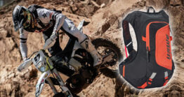 USWE RAW motorcycle hydration action pack