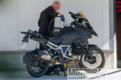 Next-Generation BMW R1300GS Spied Out Testing