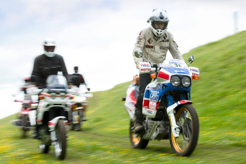 Dakar Enduro Rally for classic adventure bikes